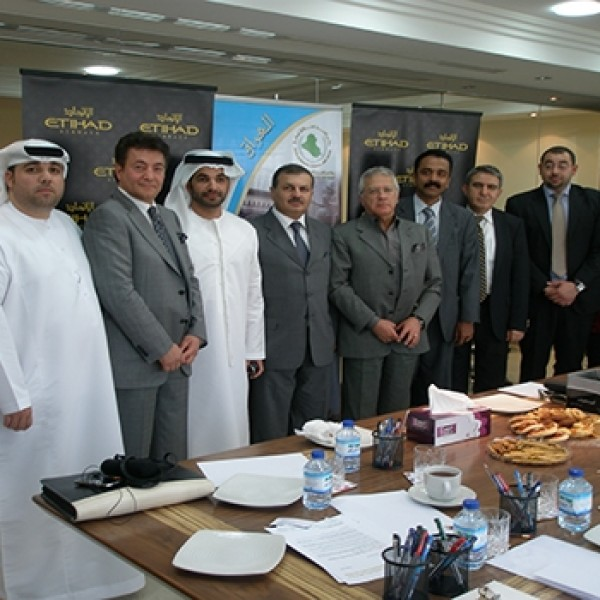 Signature IBCAD With ITIHAD – 2013