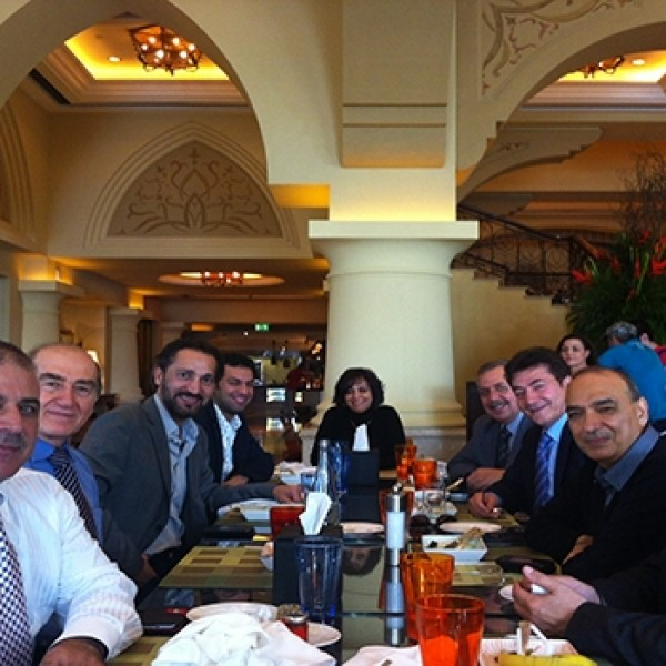 Lunch With Mr. Naseer Shama – 2013