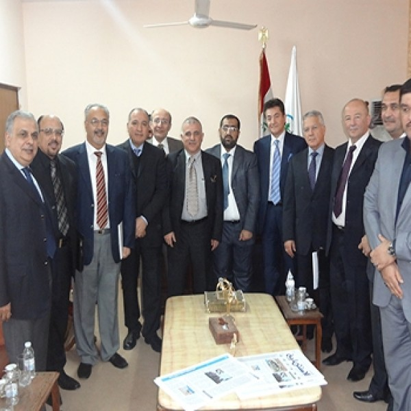 Meeting Board Members With Delegation of The Babil Province Investment Authority – 2013